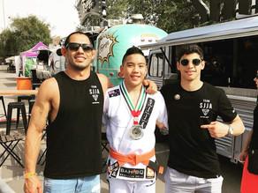 Silver at Abu Dhabi World Pro Jiu-Jitsu Championship