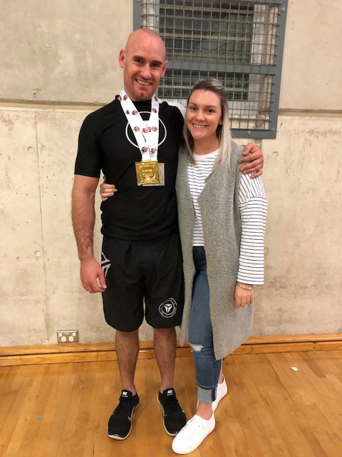 Nathan Waters and Gemma Smith THP Total Health Performance NSW State Jiu-Jitsu Champ No Gi Camden Narellan Campbelltown Ingleburn
