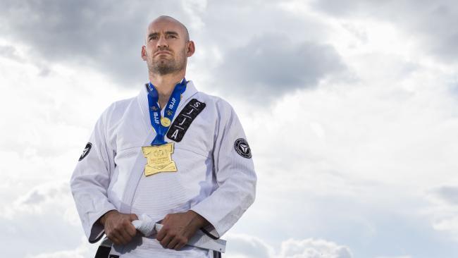Nathan Waters Jiu-Jitsu Gold Pan Pacs Total Health Performance SJJA