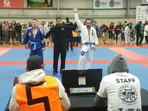 Gold at 2018 Central Coast BJJ Open