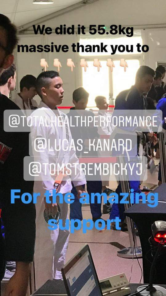 How to cut weight for jiu-jitsu THP Total Health Performance