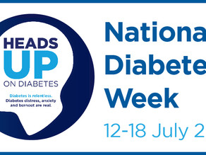 National Diabetes Week 12-18th July 2020