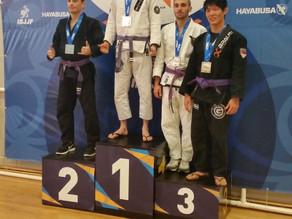 Gold At Sydney International Open Jiu-Jitsu Competition