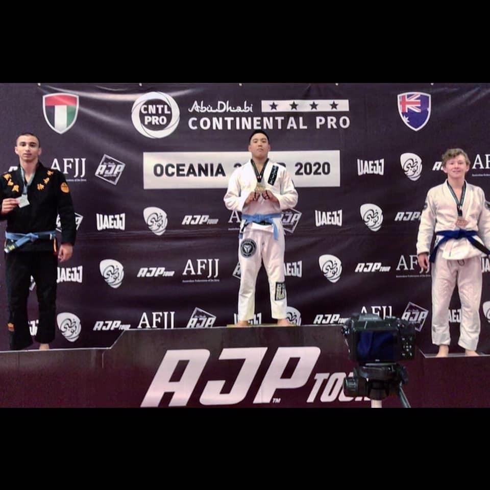 Abu Dhabi Pro Jiu-Jitsu Gold Medal SJJA Total Health Performance Narellan Crows Nest