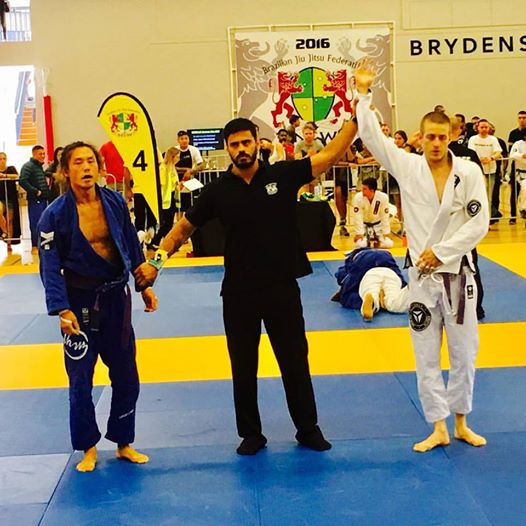 THP Jiu Jitsu Aaron Smith Winning Summer Cup