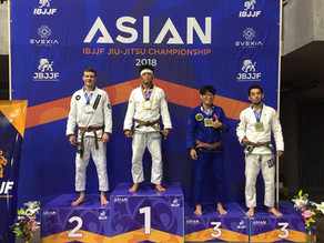 Silver at Asian IBJJF Jiu-Jitsu Championship 2018