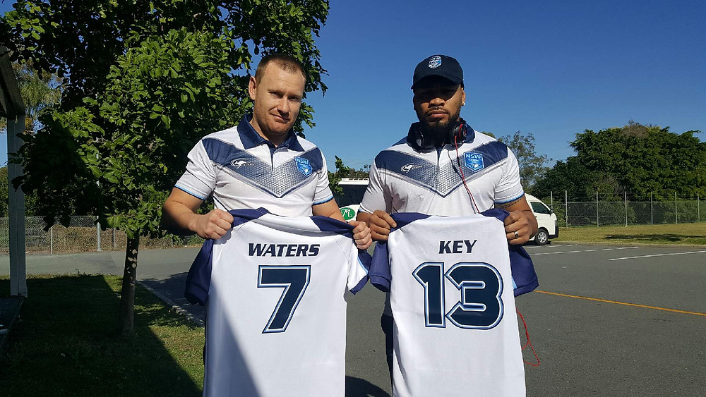 Total Health Performance Rugby League NSW Ron Massey Cup Captain Brendan Waters and Vice Captain Jerry Key Campbelltown, Camden, Narellan, Ingleburn