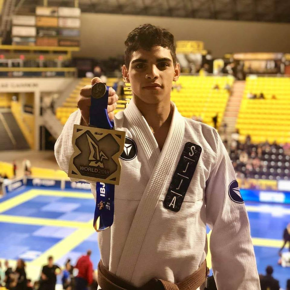 Igor Almeida Bronze at IBJJF Worlds 2018 Total Health Performance SJJA Jiu Jitsu Camden Ingleburn