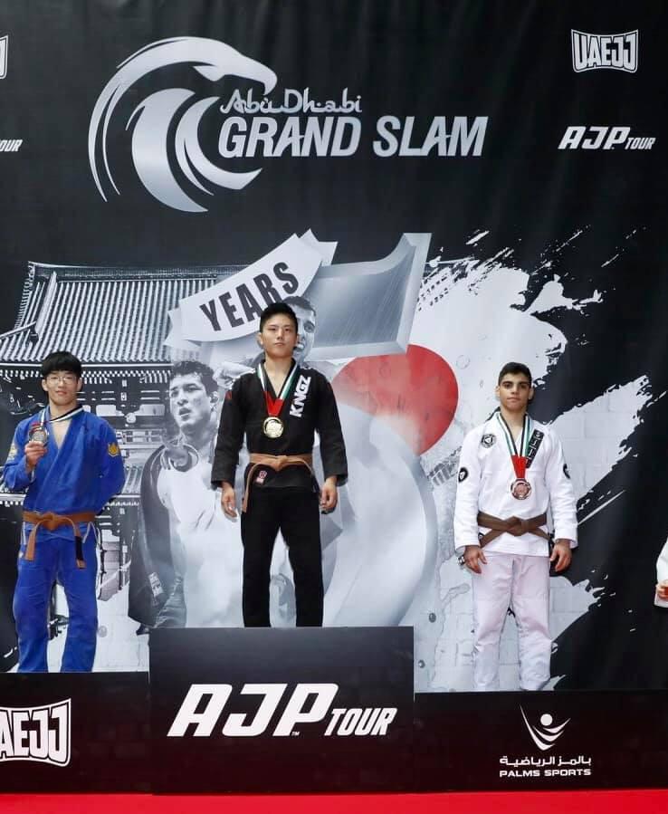 Igor Almeida Bronze Abu Dhabi Grand Slam Tokyo UAEJJF SJJA Total Health Performance Narellan Crows Nest