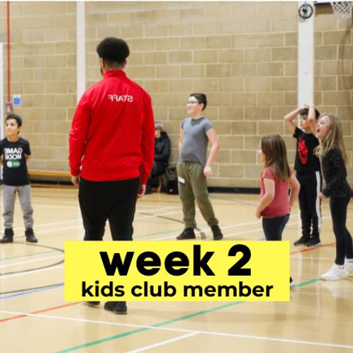 Sportsmania • Mon 16th – Fri 20th August - Kids Club Members Only