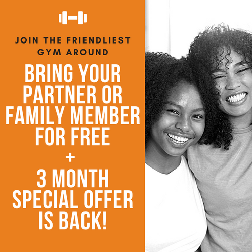 Joint & family membership OFFERS! + 3 month offer IS BACK!