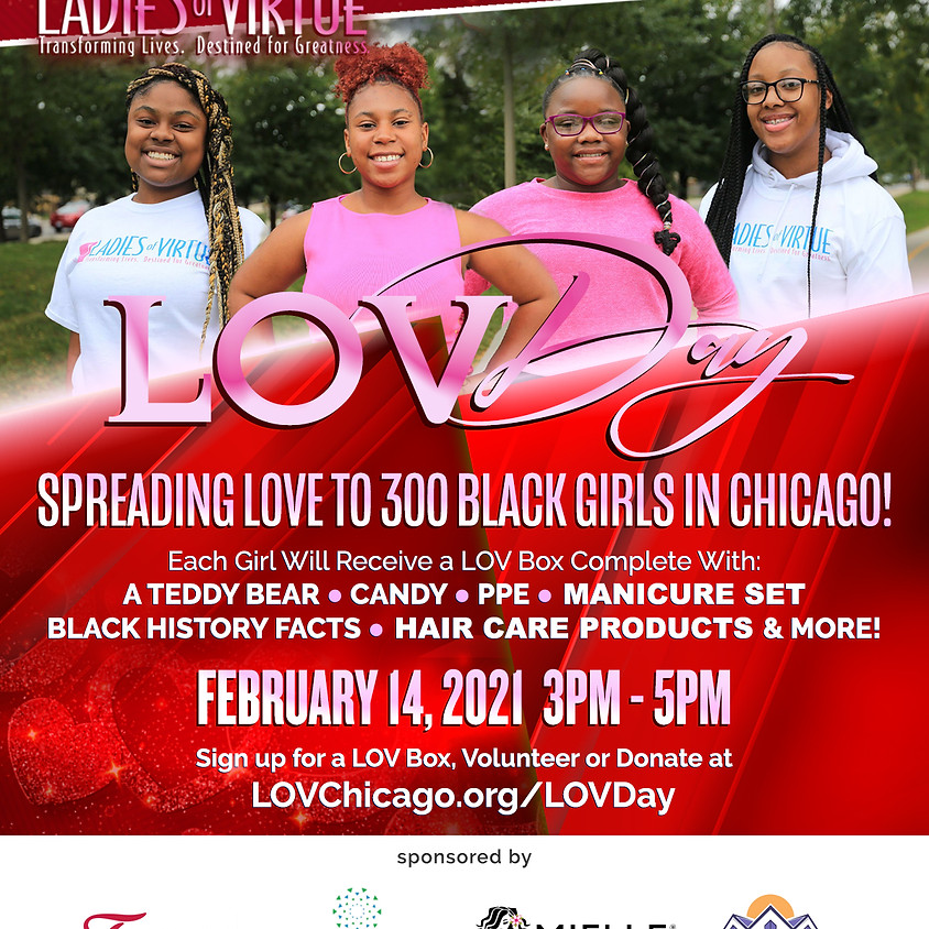 Join Us for our 1st LOV DAY!