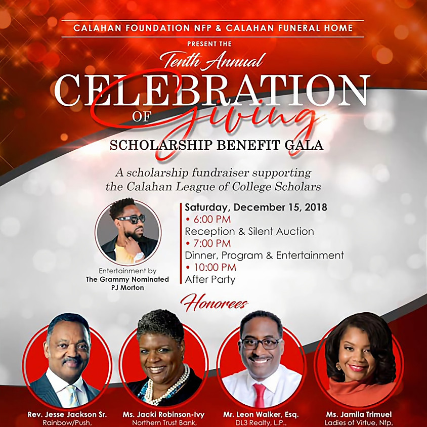 Giving of Scholarship Benefit Gala (15.12.18)