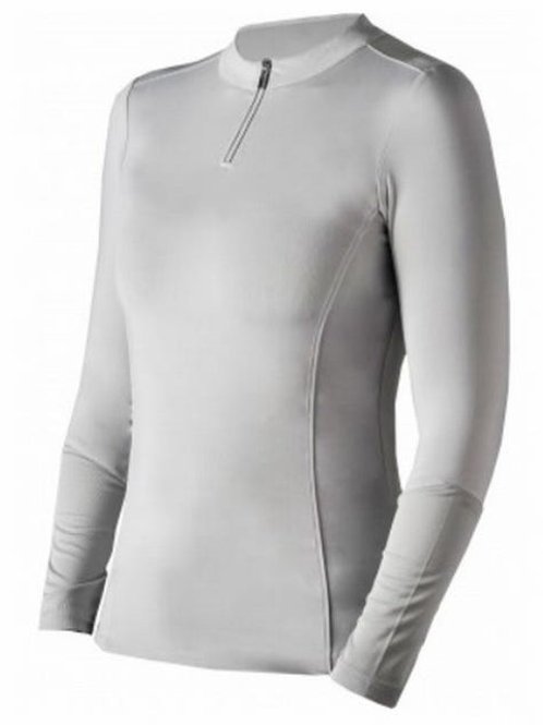 Basic Shirt Platinum grijs