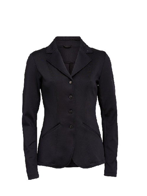 Black competition jacket black stones