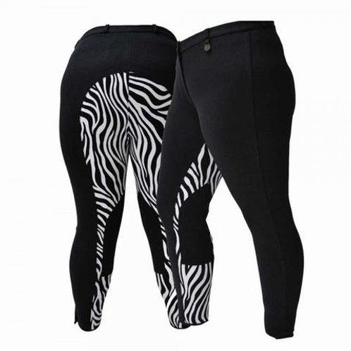 Fuller Fillies Zebra rijbroek