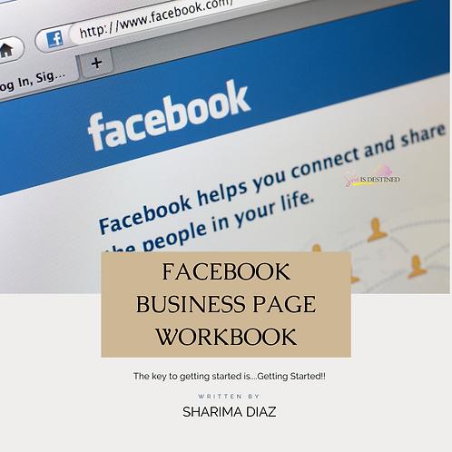 Facebook Workbook
