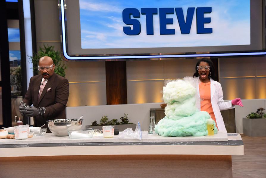Jackie and Steve Harvey on The Steve Harvey Show