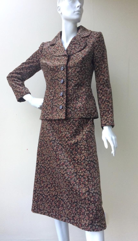 Dior Velvet suit