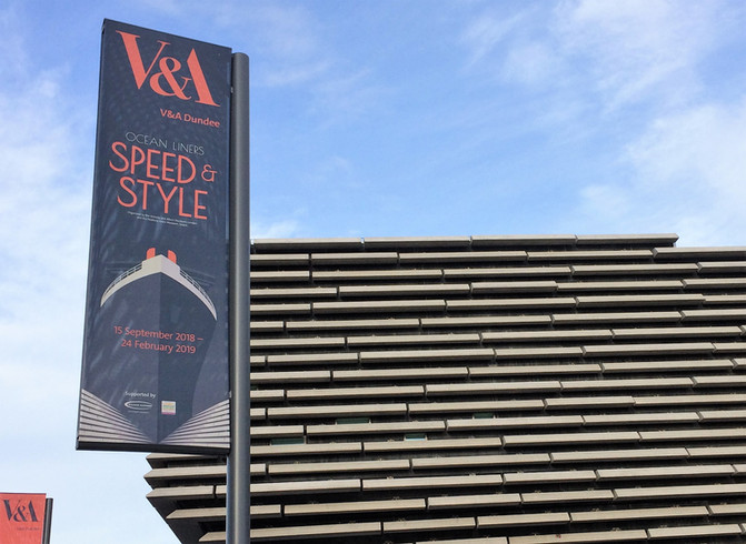 V&A Dundee opening