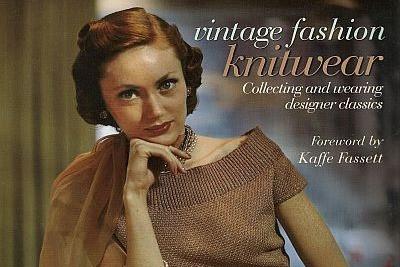Vintage Fashion Knitwear by Carlton books