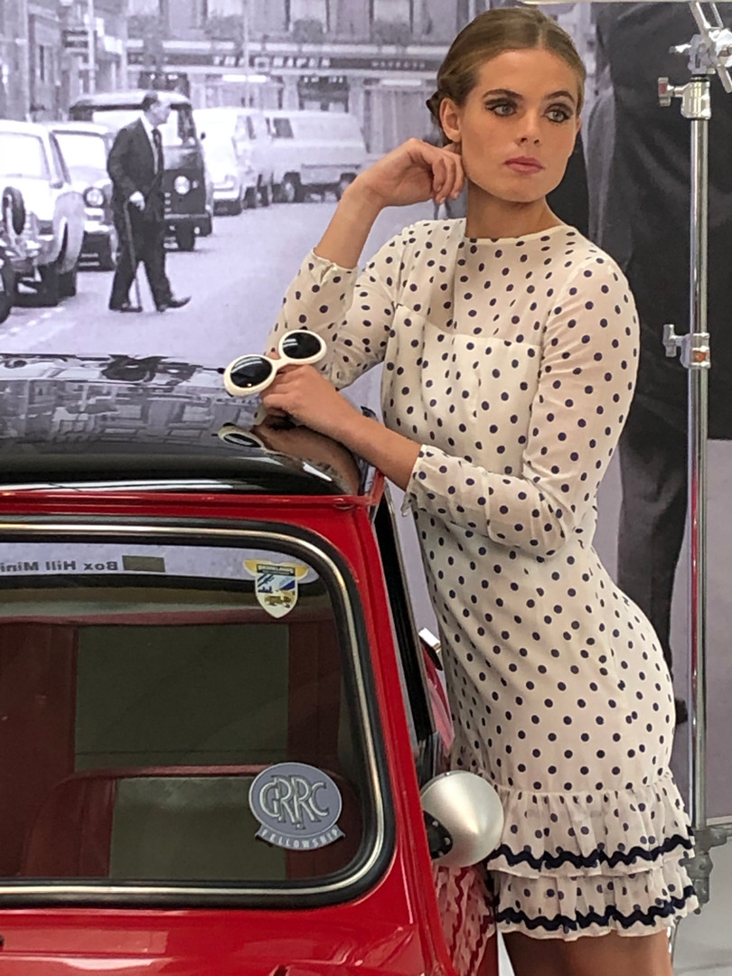 Rosie Tapner and Mary Quant mini