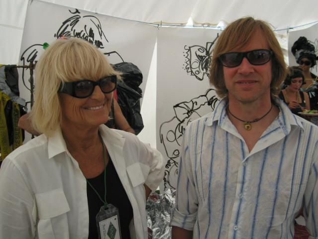 Barbara Hulanicki and Mark