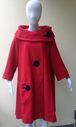 50's red coat_