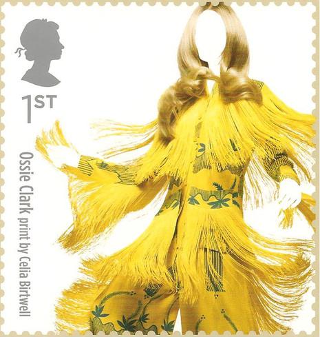 """Royal Mail """"Great British Fashion"""" stamp 15th May 2012"""