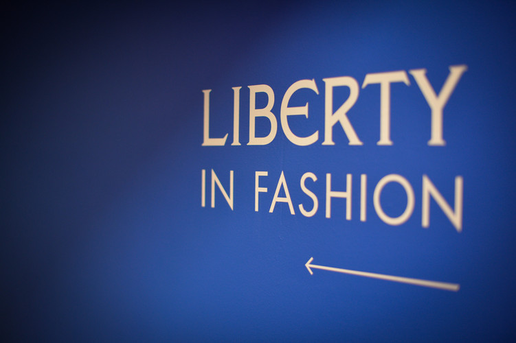 """Fashion & Textile Museum """"Liberty in Fashion""""  October 2015 - February 2016"""