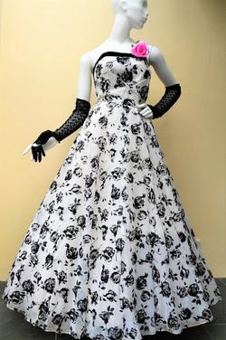 1950s ballgown