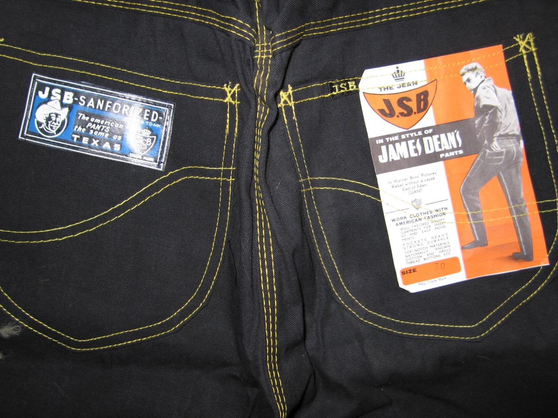 James Dean jeans 1950s