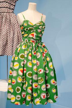 Horrockses  food print dress
