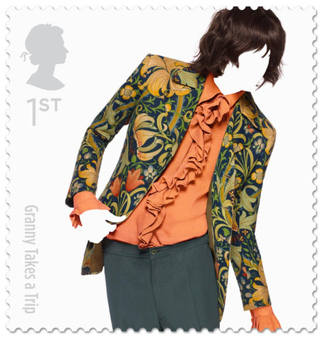 """Royal Mail """"Great British Fashion"""" issued 15th May 2012"""