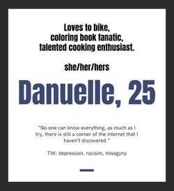 Danuelle, 25