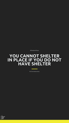 Shelter in Place | Instagram Stories