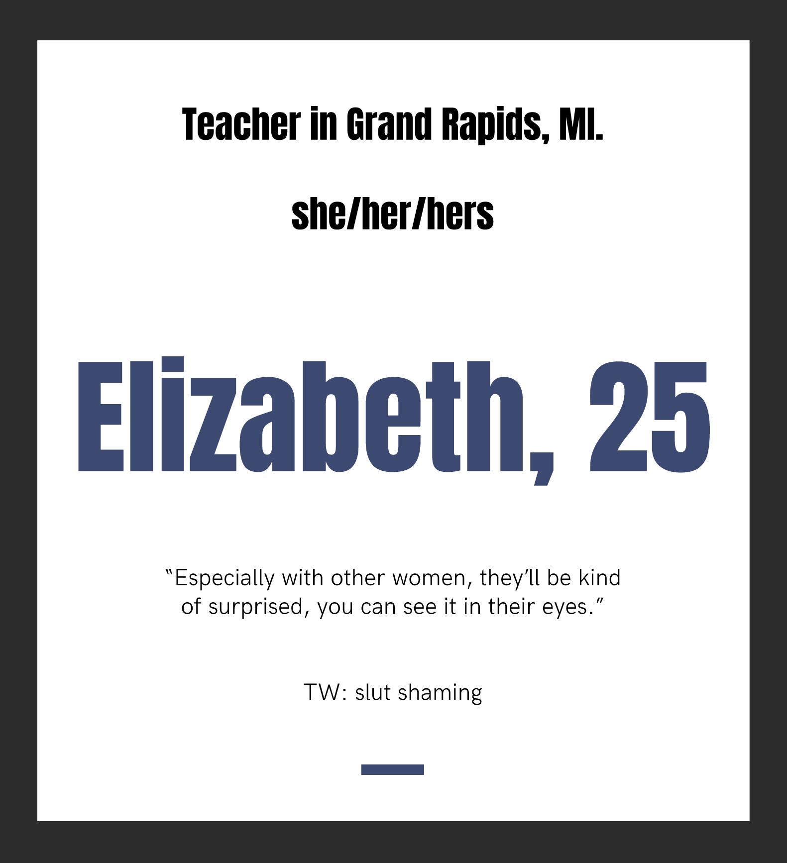 Elizabeth, 25