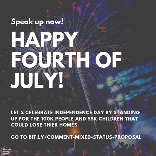4th July Instagram