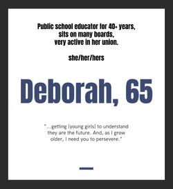 Deborah, 65
