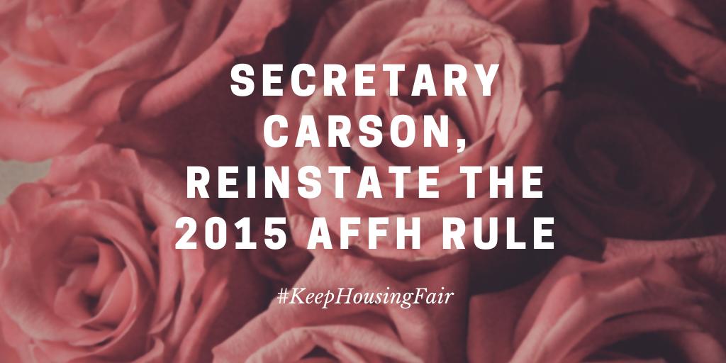 Secretary Carson Valentine
