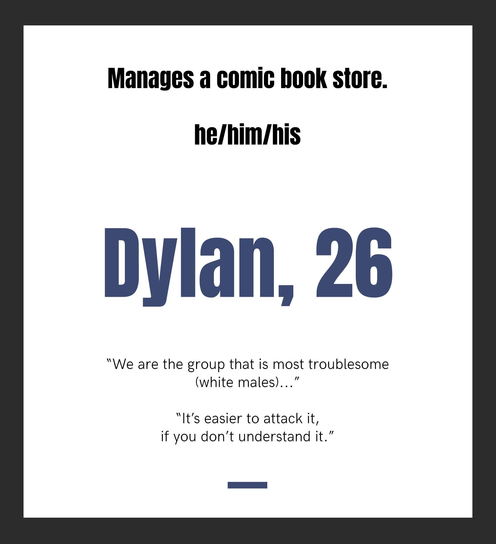 Dylan, 26