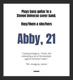 Abby, 21
