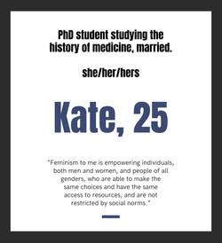 Kate, 25