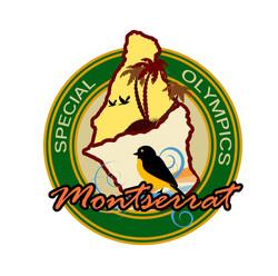 Montserrat Special Olympics Pin