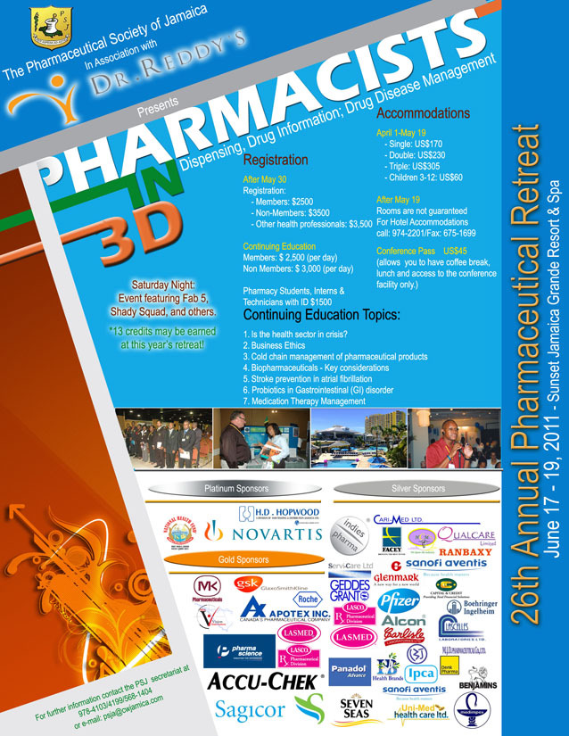 Pharmacists in 3D Flyer