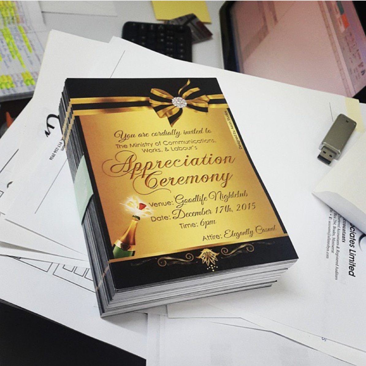 MCWL Awards Ceremony Invitation 2015