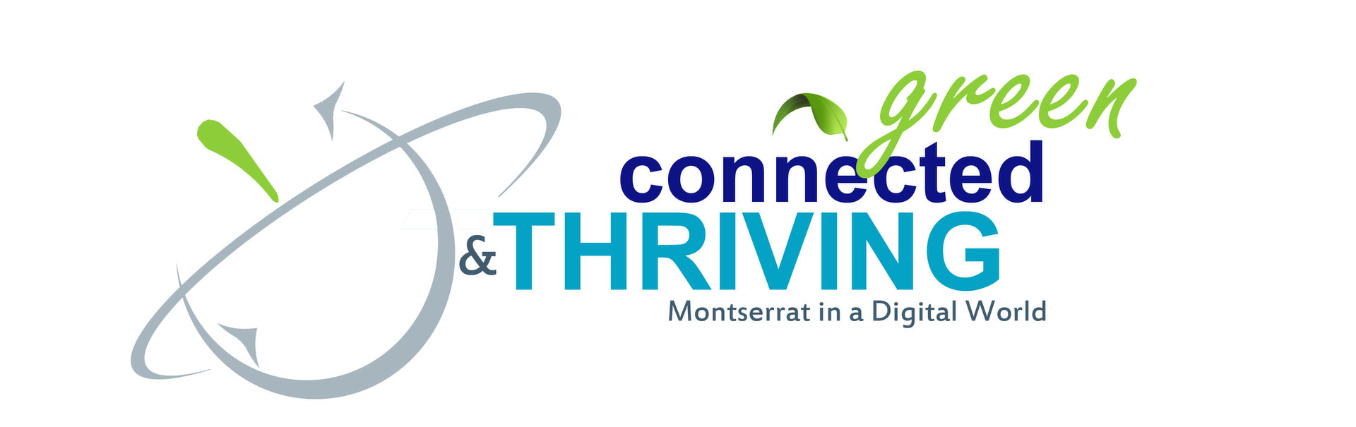 Green, Connected, Thriving Logo
