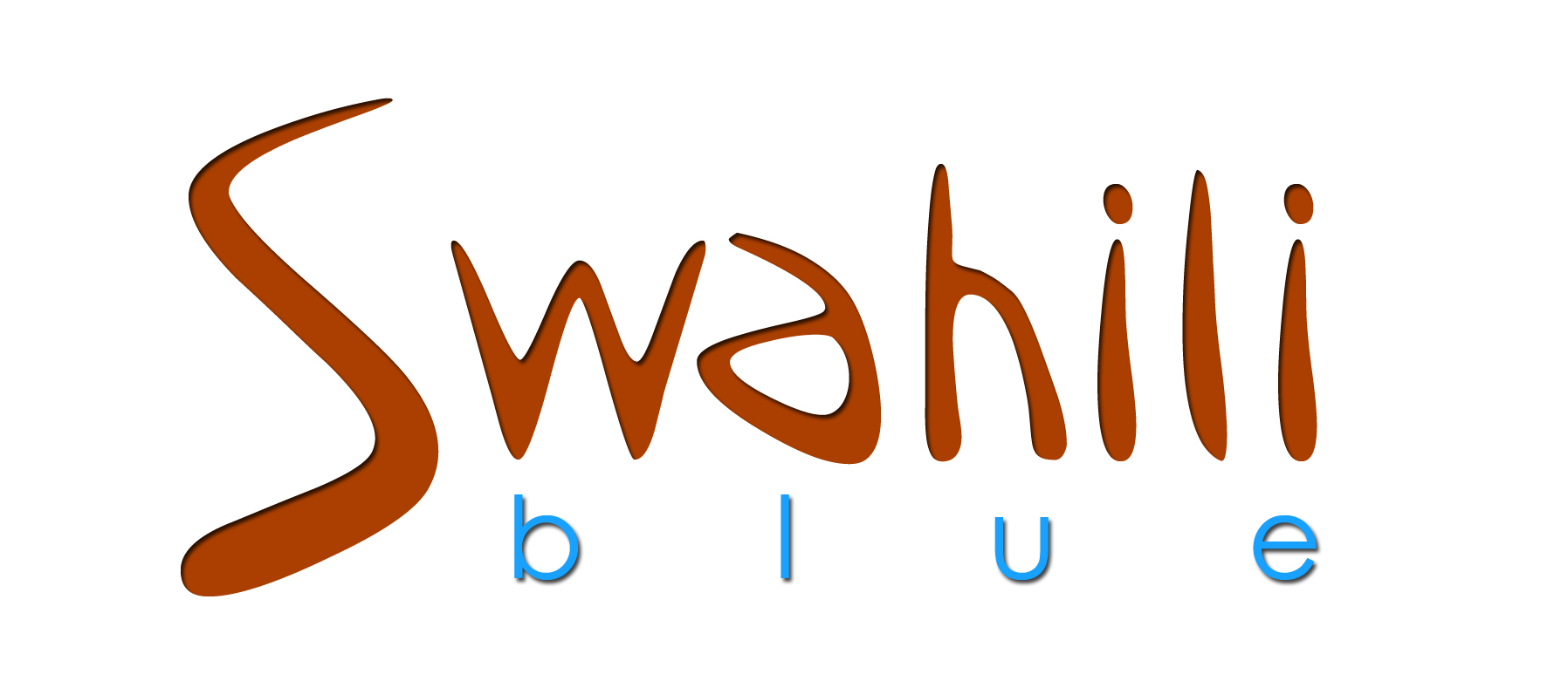 Swahili Blue Logo