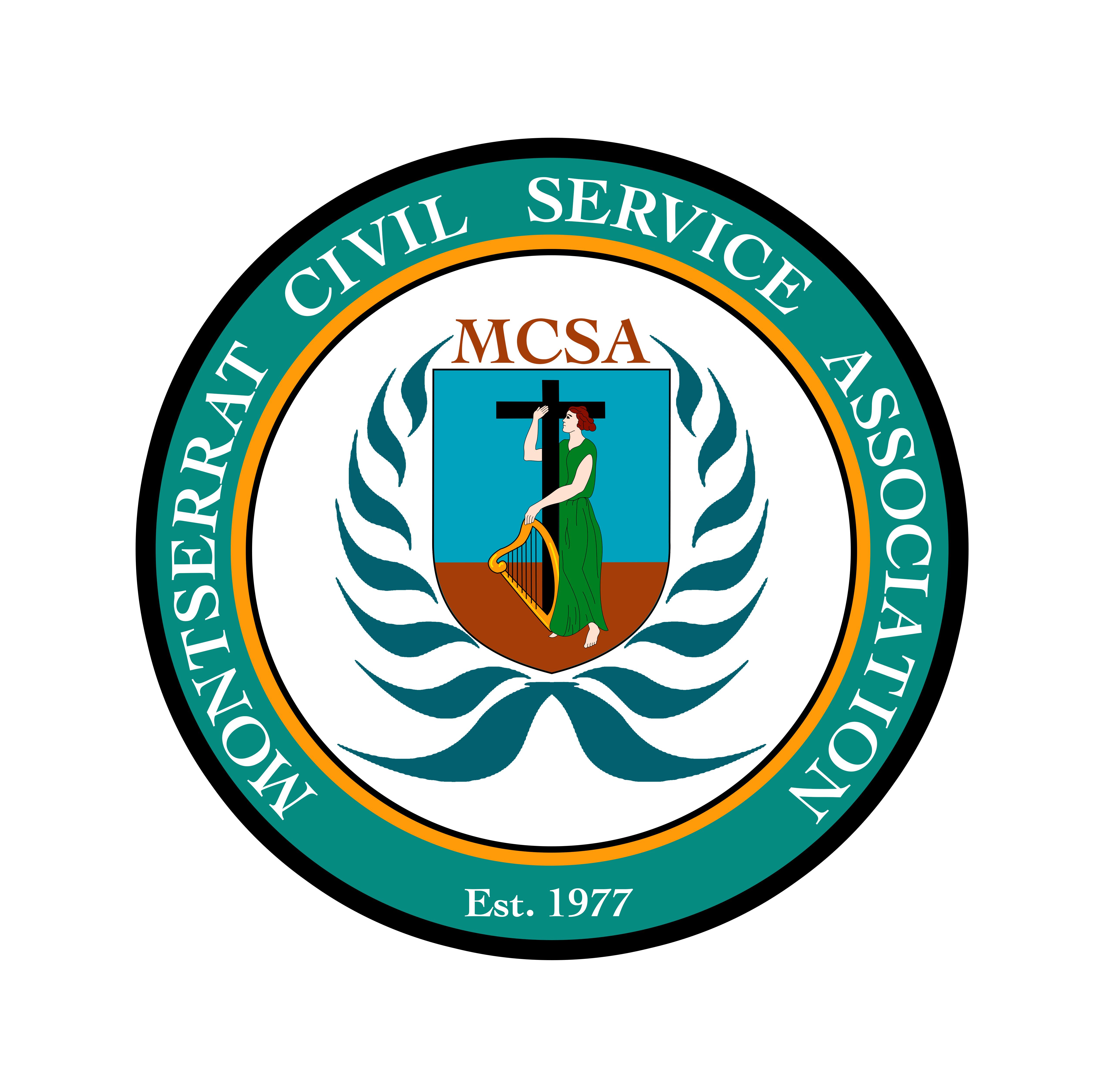 Montserrat Civil Service Assoc. Logo