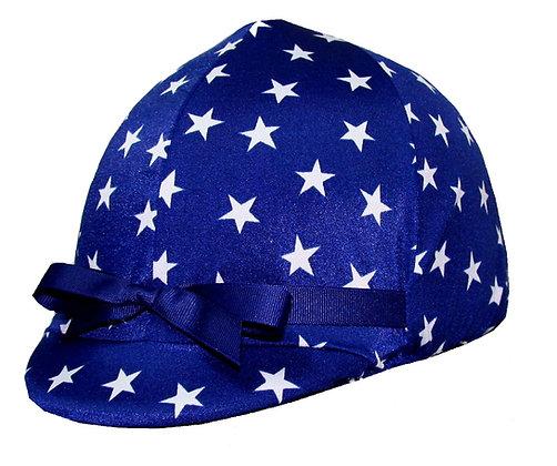 Navy & White Stars